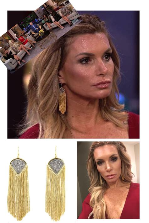what earrings do the real houses wifes of beverly hills wear 1881 best images about best of real housewives fashion on