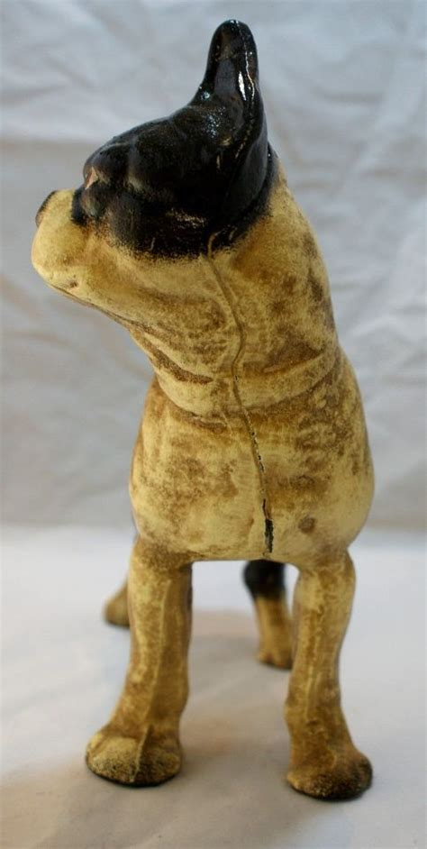 bull terrier pug large boston bull terrier cast iron bank decor pug mantel pit bull ebay