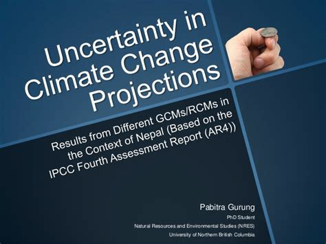 Climate Change Experiment Results by Uncertainty In Climate Change Projections Results From