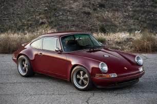 Stinger Porsche Porsche 911 Carolina By Singer Hiconsumption