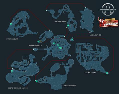 Borderlands Claptrap Locations   borderlands claptraps new robot revolution world map