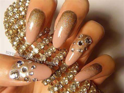 nail art rhinestones tutorial diy nail art tutorials rhinestones designs step by step