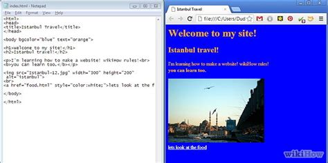 design html website using notepad 10 uses of notepad that you didn t know