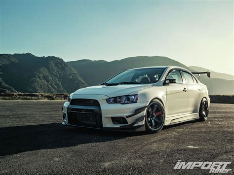 evo mitsubishi 2010 2010 mitsubishi lancer evolution x mr import tuner magazine