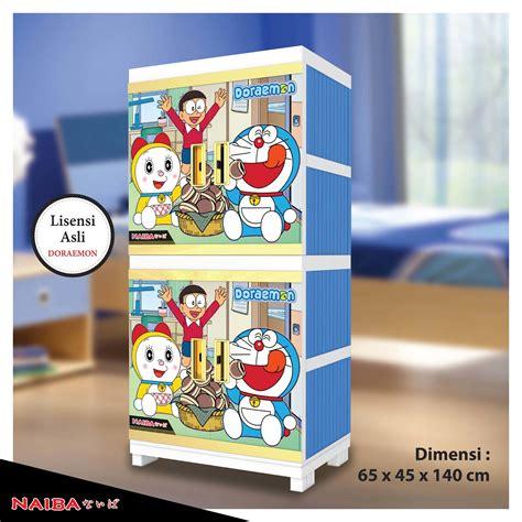 Lemari Plastik Merk Naiba jual lemari plastik rak baju naiba tipe doraemon 4674