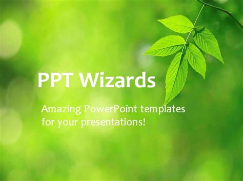 nature powerpoint templates enom warb co