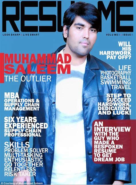 pakistan creates 28 page resume as a glossy magazine