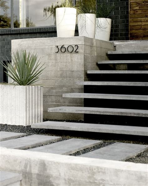 Front Staircase Design 10 Best Images About Front Of House On Pinterest Concrete Steps Perspective And Planters