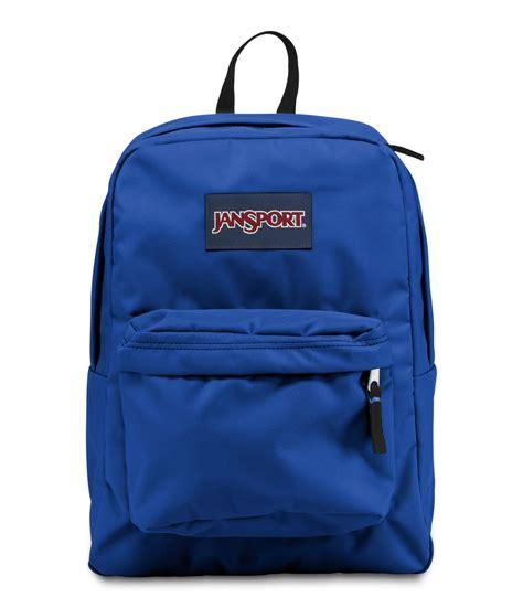Blue Backpack jansport superbreak school backpack blue streak