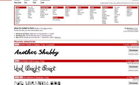 dafont typography quelques liens utiles
