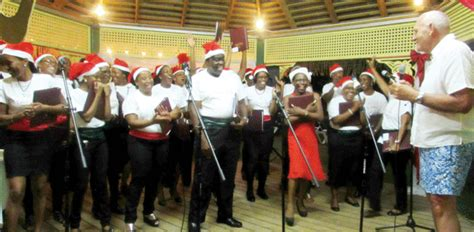 coco quire coco palm choir hits some high notes st lucia news from