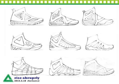 how to design basketball shoes peak basketball shoe design on behance