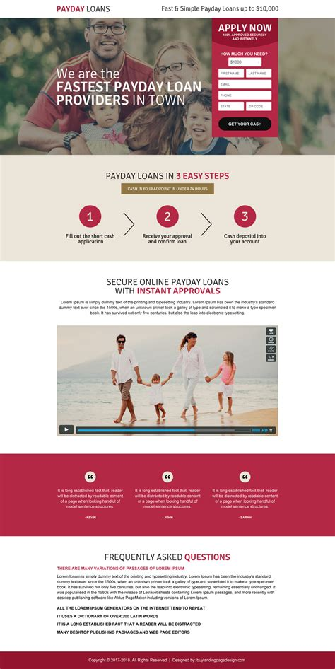 mortgage landing page templates fastest payday loan landing page 037 payday loan landing