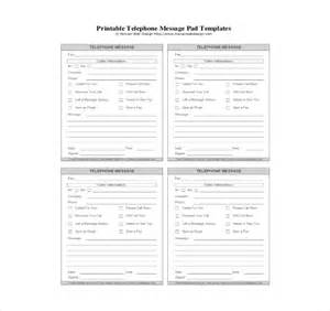 printable pad template phone message template 21 free word excel pdf