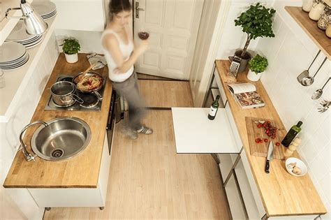 practical multifunctional element  small kitchens