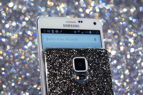 samsung galaxy note 4 review the verge samsung s galaxy note 4 and gear s swarovski editions scream of opulence the verge