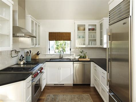 design small kitchen how to make small kitchens feel bigger