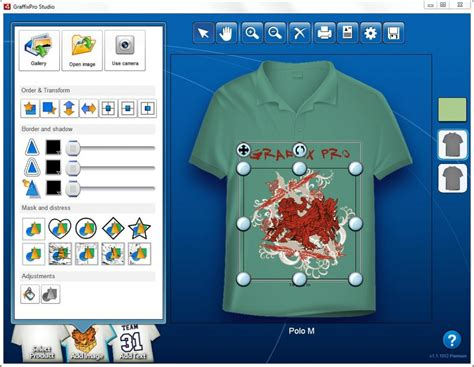 t shirt pattern design software graffixpro studio software stitch print