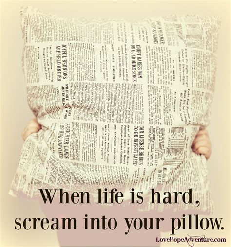 Screaming Into A Pillow by When Is Scream Into Your Pillow
