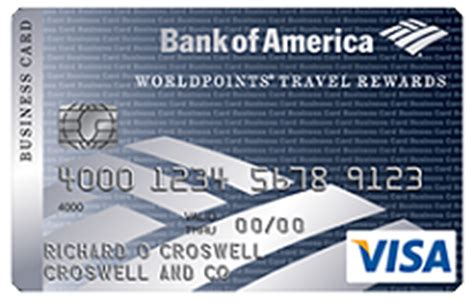 Bank Of America Worldpoints For Business Card