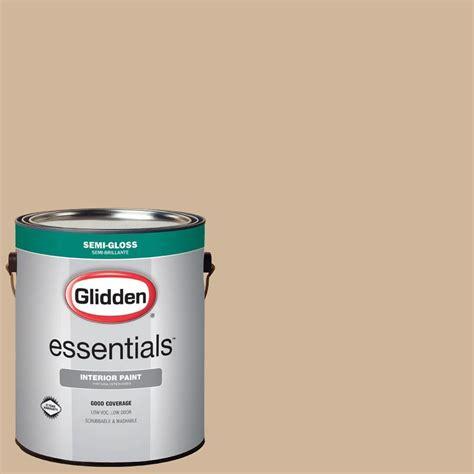 glidden premium 1 gal hdgwn19d bonjour beige eggshell interior paint with primer hdgwn19dp