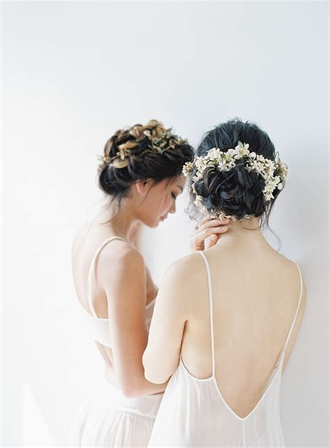 Wedding Hair And Makeup Tips by Stylish Wedding Hair Ideas And Bridal Tips Once Wed