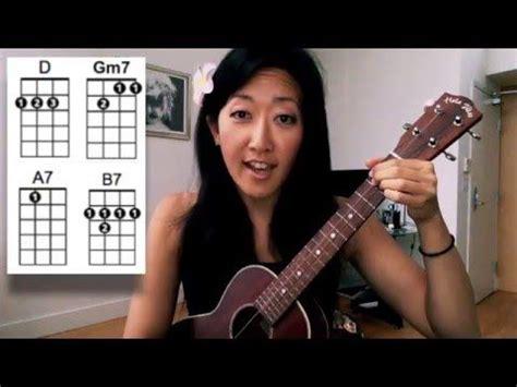 tutorial ukulele moon song 37 best images about ukulele cynthia lin on pinterest