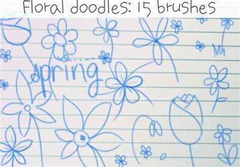 doodle flower photoshop brushes flower doodles brushes free photoshop brushes at brusheezy