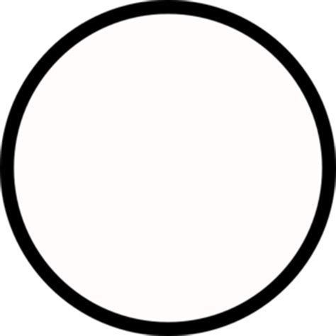 Circle Black Outline by Black Circle Medium Outline Clip At Clker Vector Clip Royalty Free