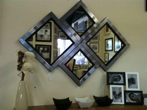 diamond pattern wall mirror new modern silver black diamond wall mirror 115 x 86cm