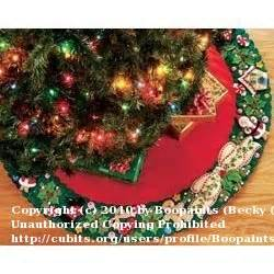 make your own tree skirt i cubit tree skirts forum how to make