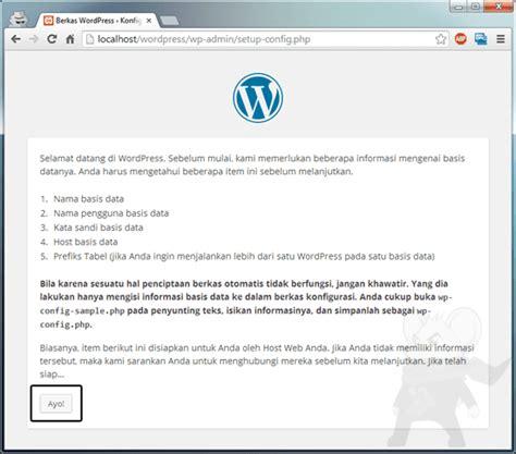 membuat website dengan wordpress di localhost cara membuat website dengan wordpress org jalantikus com
