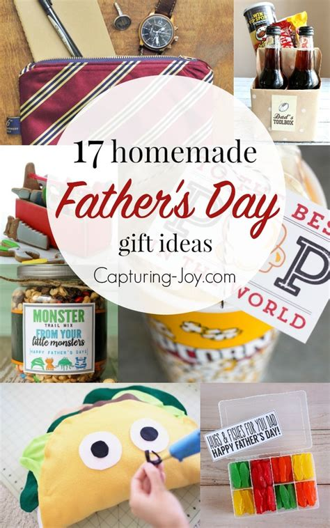 Handmade Fathers Day Presents - 17 s day gifts