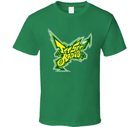 Logo Anime Japan T Shirt jet set radio logo anime japanese t shirt