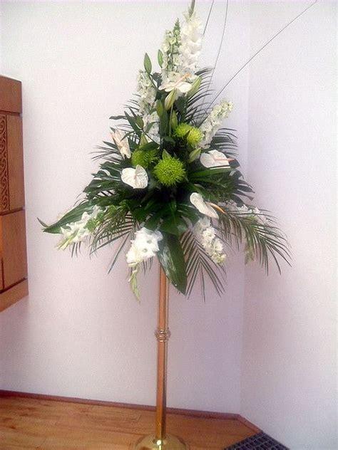 Large Wedding Flowers by Large Wedding Pedestal Flower Arrangement Large Floral