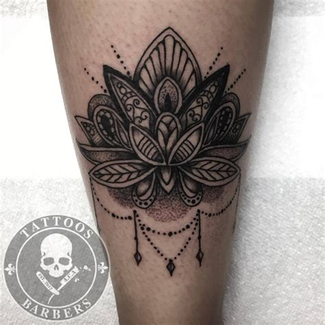mandala tattoo girly tattoo studio a cut of art tattoo shop and barbershop