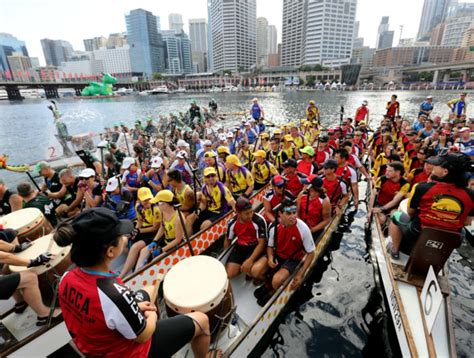dragon boat racing sydney 2019 dragon boat races what s on city of sydney
