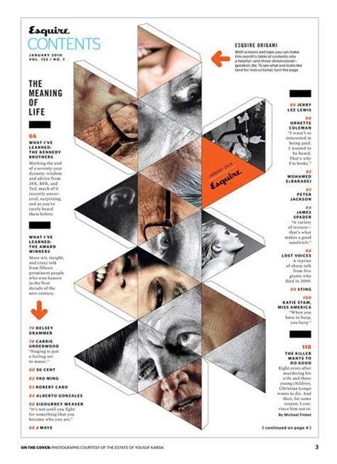 magazine layout contents top 25 ideas about table of contents design on pinterest
