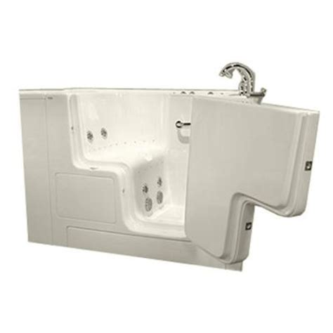 american standard walk in bathtubs american standard gelcoat 4 33 ft walk in whirlpool and