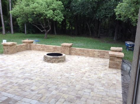 florida backyard patio pavers ta florida backyard patios dynamite fence company