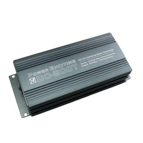 Converter Dc To Dc 24 12 20 dc dc converter 20a 24v 12v with 6 pin connector singtech