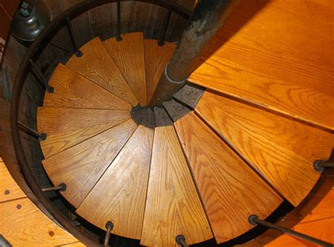 Wooden Spiral Staircase Plans 16 Spectacular Spiral Staircases As Seen From Above