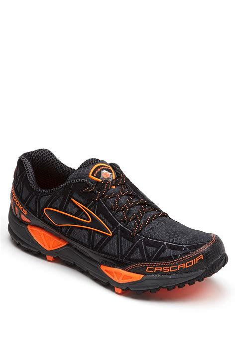 cascadia trail running shoes cascadia 8 trail running shoe in black for