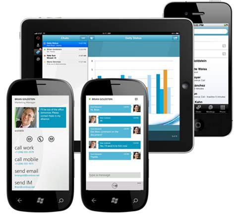 lync mobile client smartkom skype for business smartkom