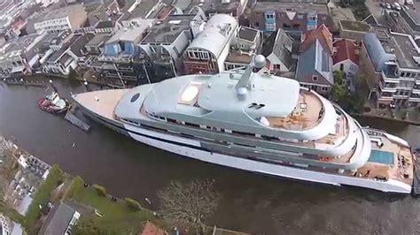 aquarius bateau youtube superjacht savannah in alphen aan den rijn youtube
