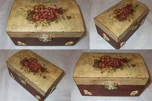 Shabby Chic Jewelry Boxes by Decoupage Box 8 By Pinterzsu On Deviantart
