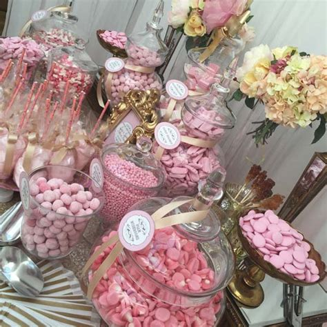Sweety Gold by Wedding Sweetie Table Table Pink And Gold Buffets
