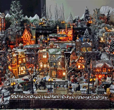 christmas village displays bing images department  christmas village display lemax