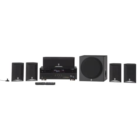 yamaha yht 595bl 5 1 channel home theater system mch rewards