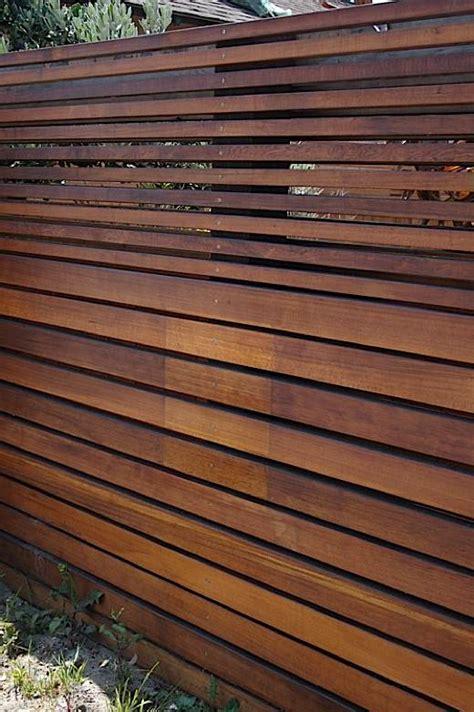 creativedesign modern wooden fence